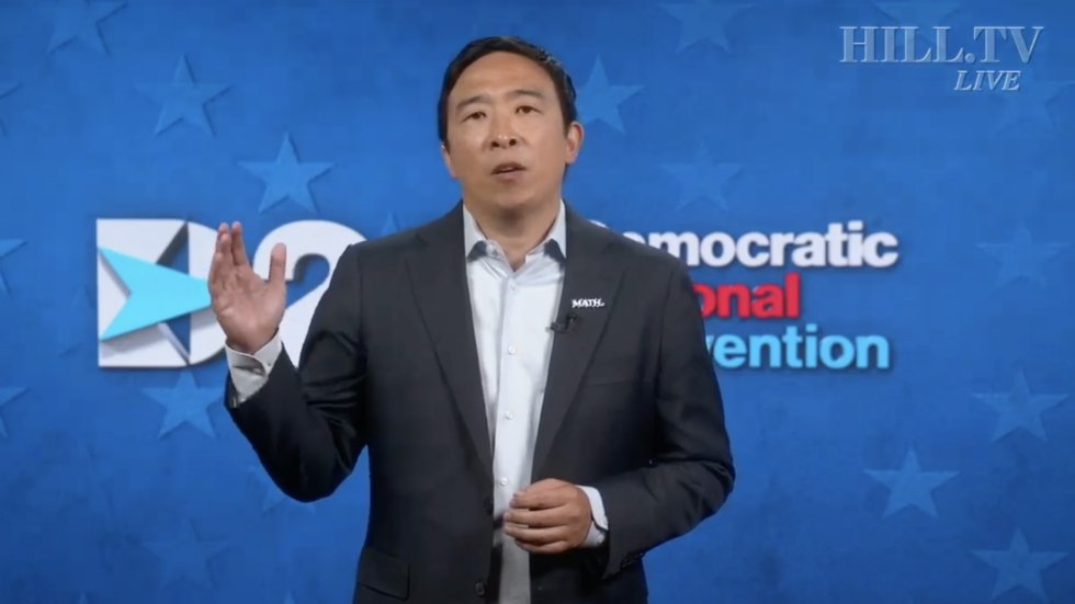 Andrew Yang condemns attacks against Asian Americans