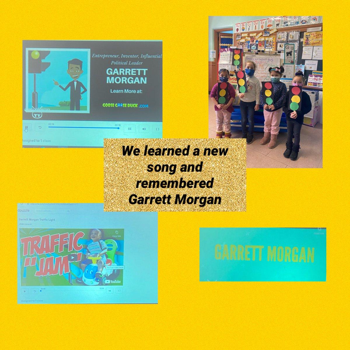 Remembering Garrett Morgan #trafficlight #inventor #March4 @YonkersSchools