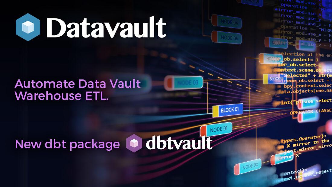 DBT package dbtvault - automate #DataVault with Snowflake. #SnowflakeDB #DataWarehouse More information here  #getdbt #databuildtool  #dbtvault #ETL #DataAnalytics #dataengineering #datamanagement #DataAnalytics #DataAutomation