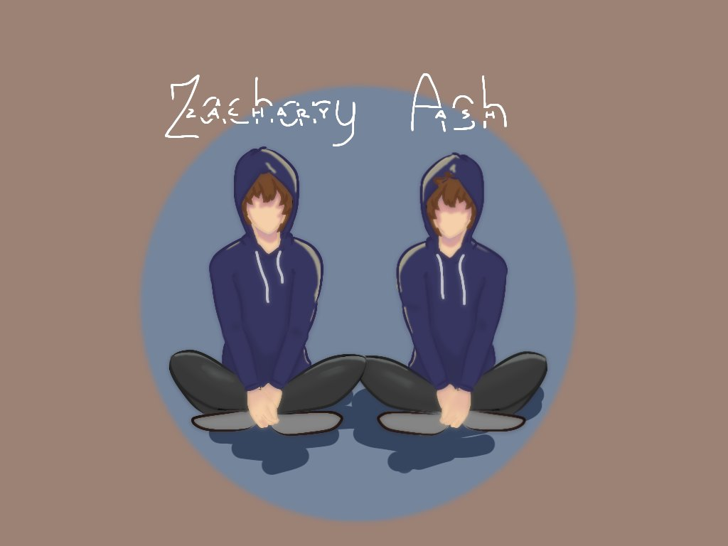the twins :) #TalesFromTheSMP #TALESFROMTHESMPfanart  zachary and ash, my beloveds