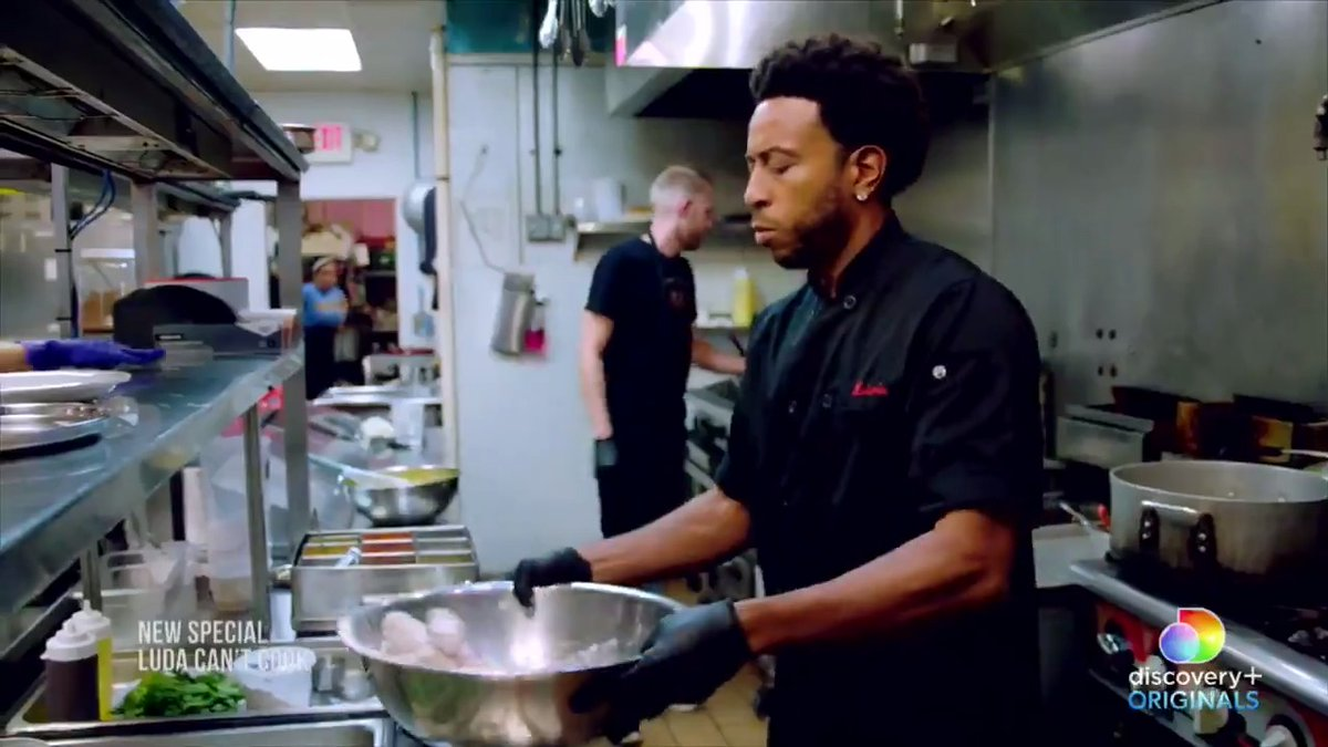 .@Ludacris is heading into the kitchen to learn the history and complexity of Indian cuisine on the new @discoveryplus special #LudaCantCook!  Stream it now exclusively on #discoveryplus: