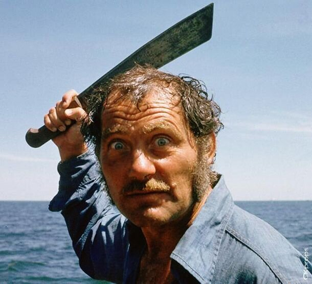 Did Quint murder Ben Gardner? The son of #RichardDreyfuss thinks the #Jaws character killed Ben rather than the #shark: