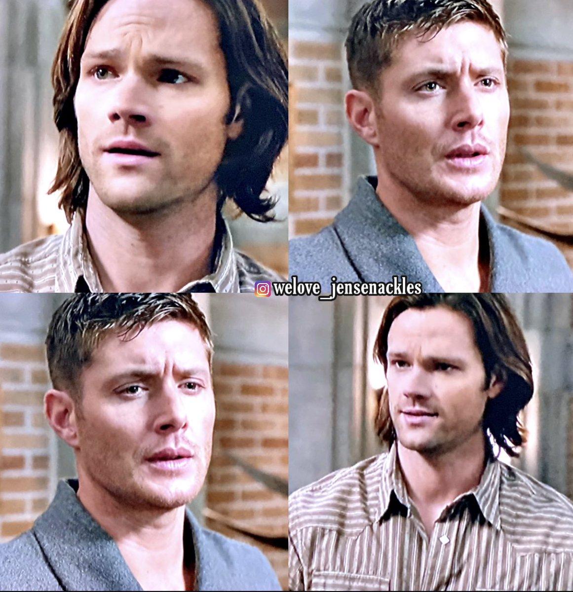 "8x13 ""Everybody Hates Hitler""   #Supernatural #JaredPadalecki #JensenAckles #Winchesters 🤍"