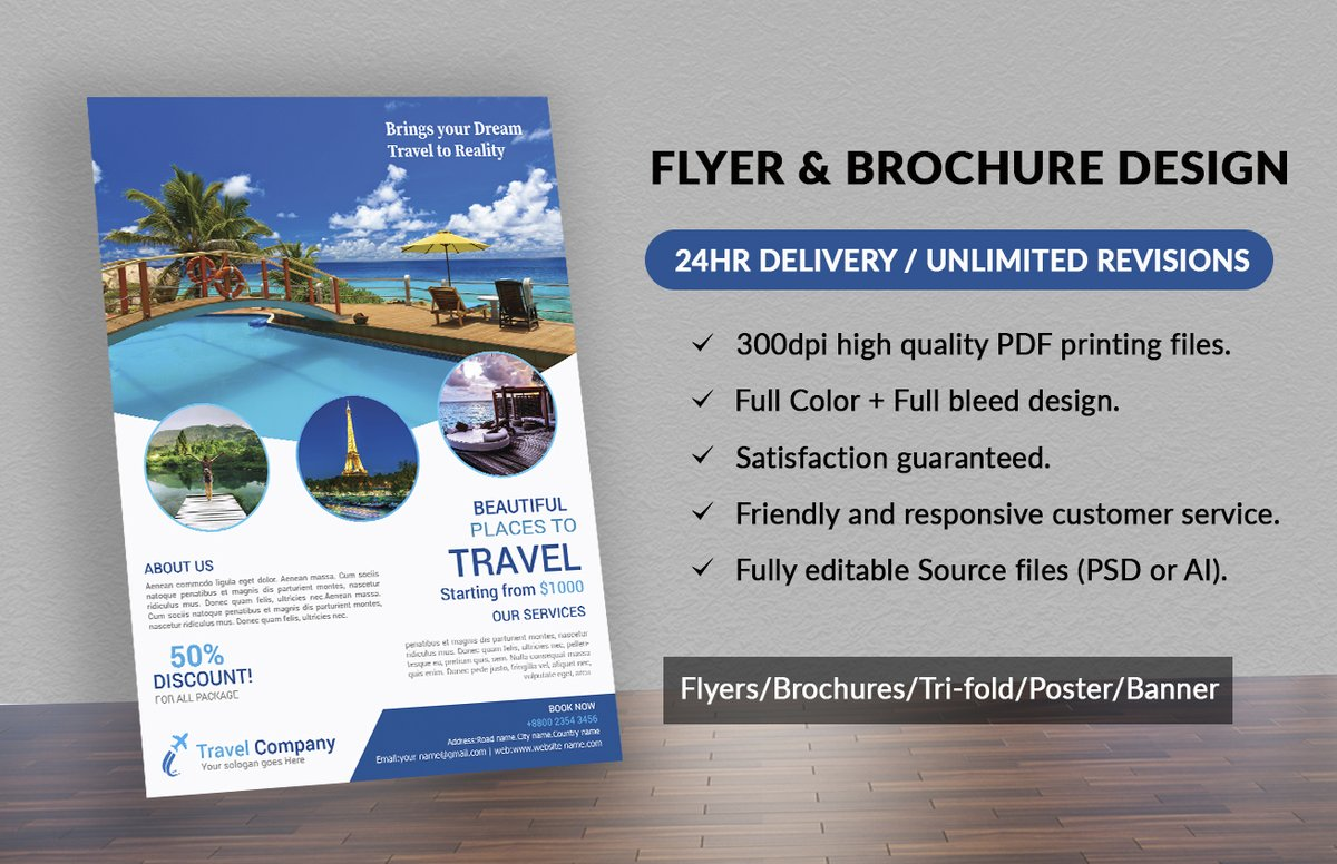 Replying to @Photoshoptouch2: Are you looking for an attractive flyer #Trifold #Brochure design? Please contact:    #Company #profile #Medical #COVID #flyer #designthinking #FreeCodeFridayContest #realestate #FFXIVSpeakerSweepstakes #Emplo…