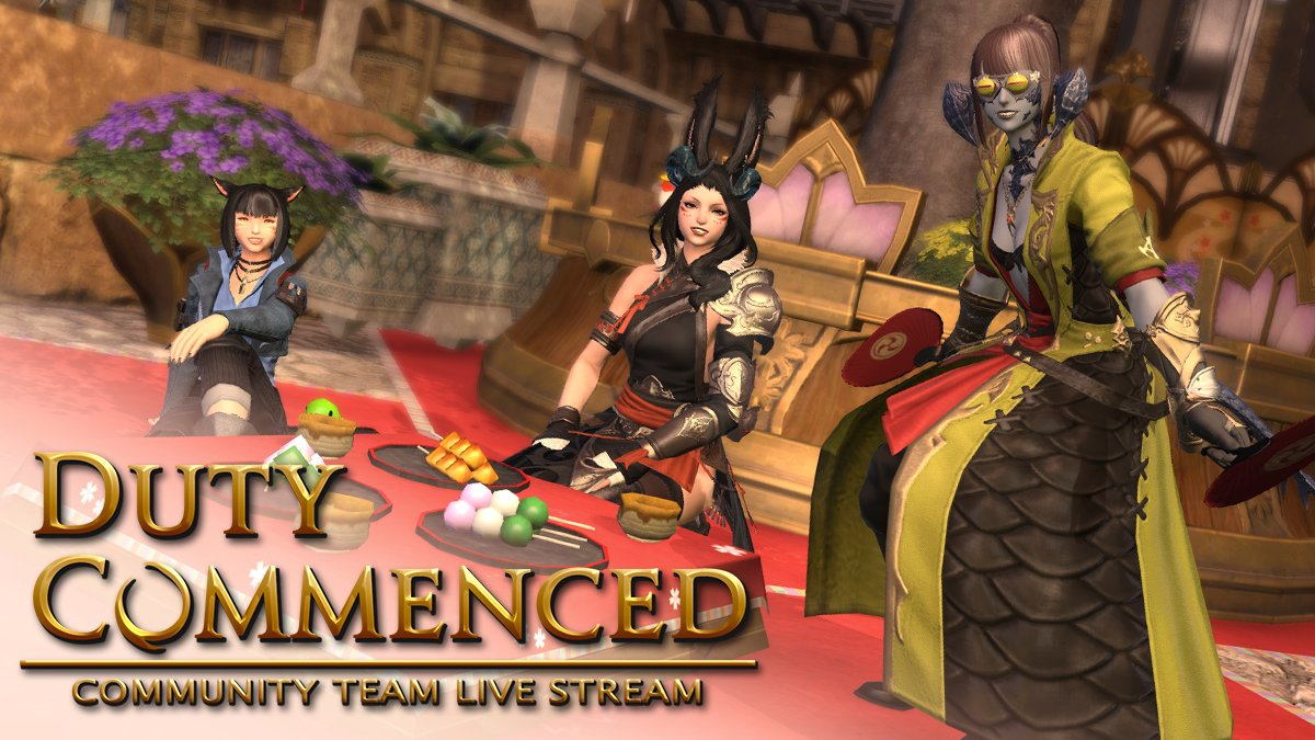 Duty Commenced is now LIVE!   Whether in-game or on stream, join us on the Zalera World (Crystal DC) for this action-packed episode as we venture into the Bozjan ruins of Delubrum Reginae!   🔴
