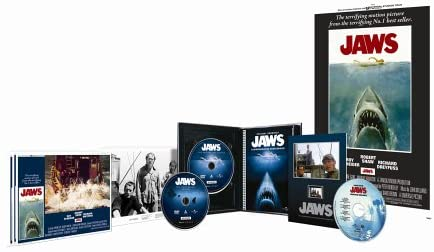 TAKE A DEEP DIVE with us into one of the best movie boxsets ever released - #JAWS 30th Anniversary Collector's Edition (Limited Edition).  Watch here:   #FilmTwitter