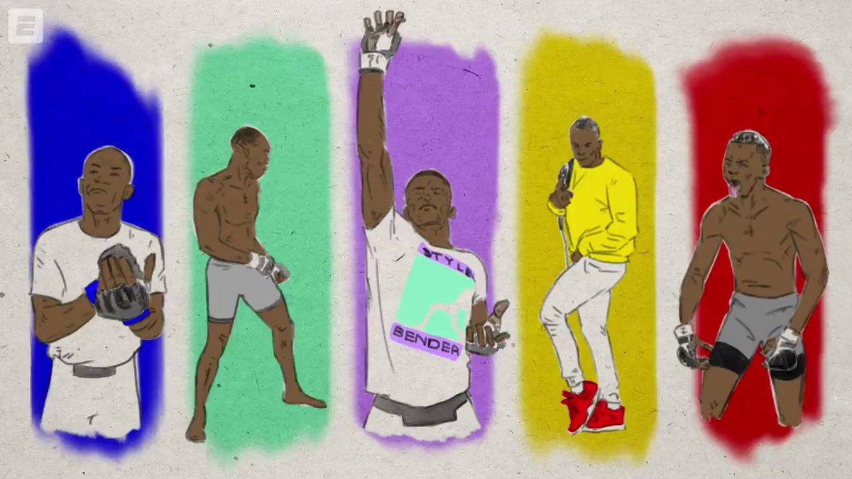 If movement is art, @stylebender creates masterpieces 🖼 #UFC259 https://t.co/Xj7K6gyUqo