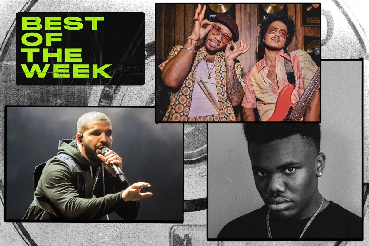 BEST NEW MUSIC THIS WEEK 🎧  🆕 @Drake 🆕 @BrunoMars & @AndersonPaak  🆕 @babykeem_   FULL LIST: https://t.co/ynlsPEovql https://t.co/q2SpxIQPMx