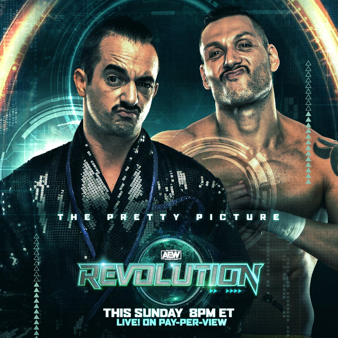 The #PrettyPicture have entered the casino tag-team royale this Sunday at #AEWRevolution. Quote tweet on which team you think takes the win and gets a shot at the #AEW world tag team championships?  Watch #AEWRevolution, LIVE, this Sunday on PPV 8/7c