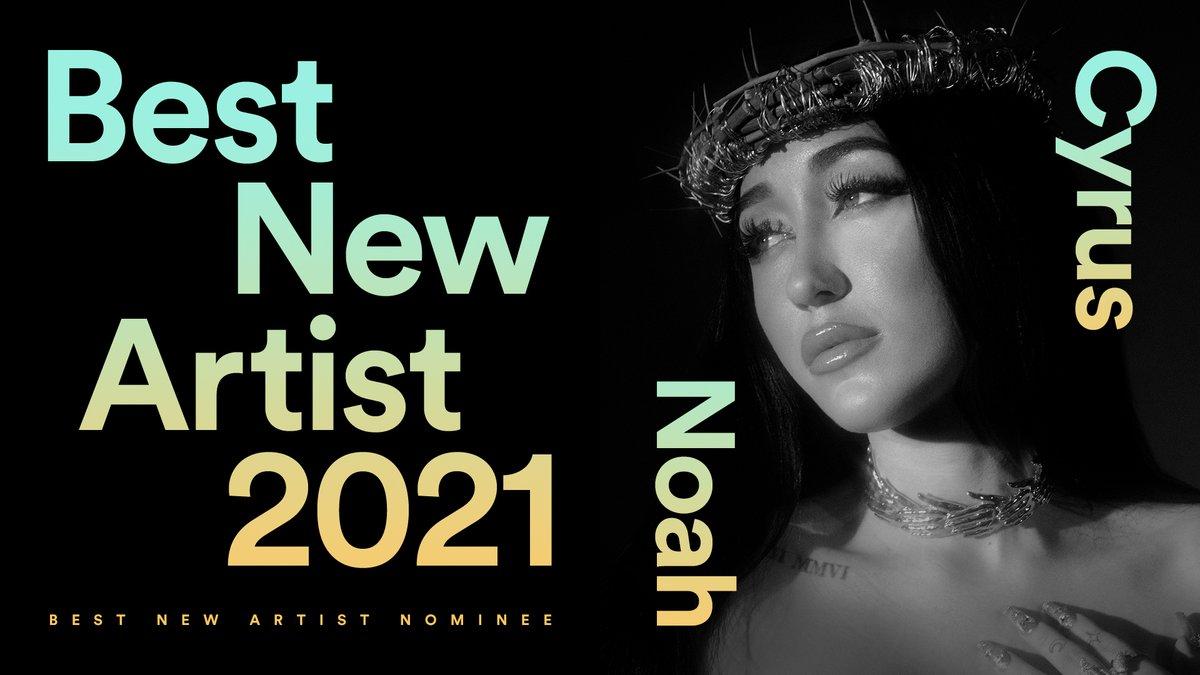 Genre-fluid singer-songwriter. Introspective podcaster. Mental health advocate. Added to 4.15M user playlists. Still lonely?  #BestNewArtist nominee: @noahcyrus