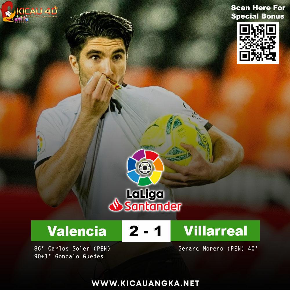 Valencia ( 2 - 1 ) Villareal  Bonus New Member 10% Bonus Harian 10% Min Deposit 25rb Bisa Deposit Via Pulsa MIN BET PARLAY 2 TEAM  WA : +6281316789215 WWW(.)KICAUANGKA(.)NET  #kicau4d #laliga #Villarreal #Valencia #football #messi #realmadrid #soccer #futbol #premierleague