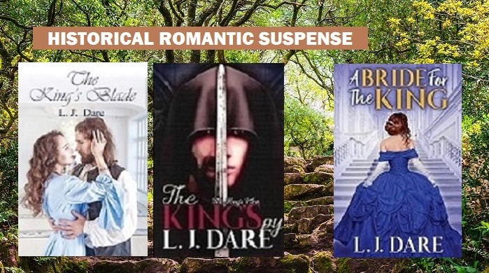 @LJDare1  May trouble flee where ever you go-Book 1-The King's Blade  Book 2-The King's Spy      Ch. 1 excerpts at:   #Romance #eBooks #BookBuzzers #YA #BVS #AltRead #SundayMorning