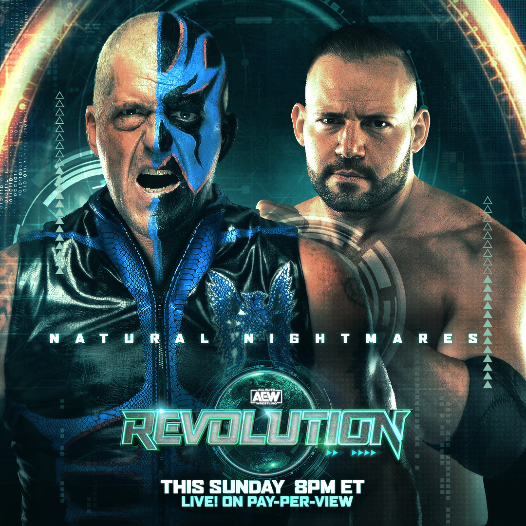 The #NaturalNightmares @dustinrhodes & @realmmarshall1 have entered the casino tag-team royale this Sunday at #AEWRevolution. RT on which team you think takes the win and gets a shot at the #AEW world tag team championships?  Watch #AEWRevolution, LIVE, this Sunday on PPV 8/7c