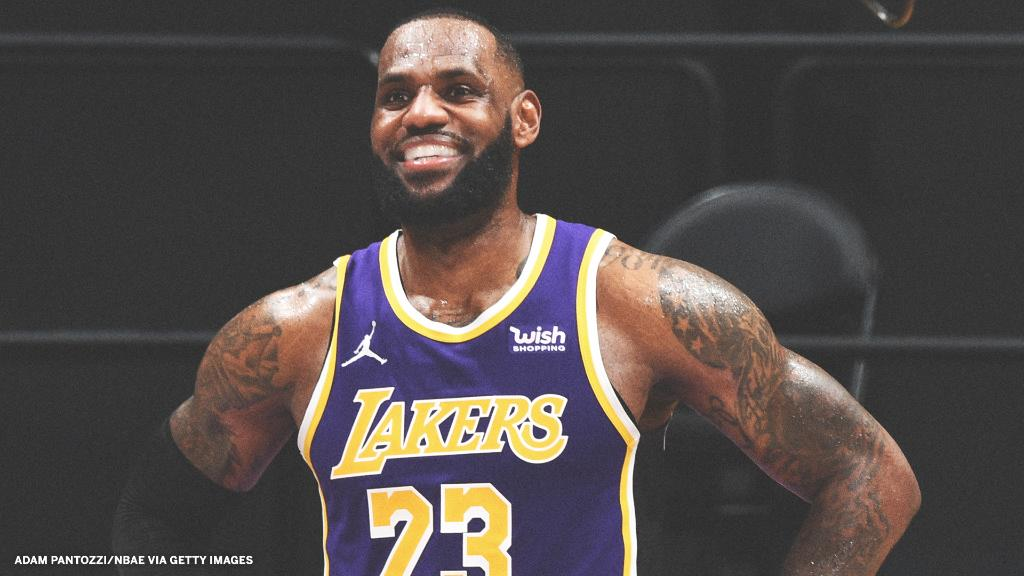 At 36 years old, LeBron is the oldest player to lead his team in points, rebounds and assists at the All-Star Break 🤯  (via @EliasSports) https://t.co/uLEKL7Iyiz