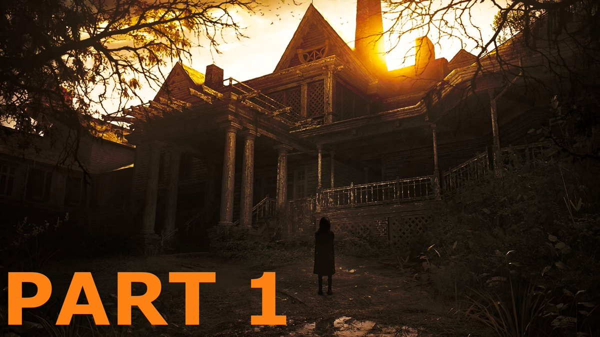 RESIDENT EVIL 7 PS5 Backwards Compatibility Playthrough Part 1 (Replaying on PlayStation 5) #residentevil #survivalhorror