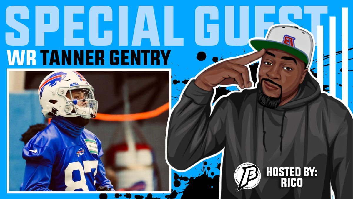 Exclusive interview with #Bills WR @Tanner4Gentry. He talks about his time with @JoshAllenQB at @wyo_football, his new opportunity with the #Bills, sharing his memories with the @XFL2022 and so much more.  📺