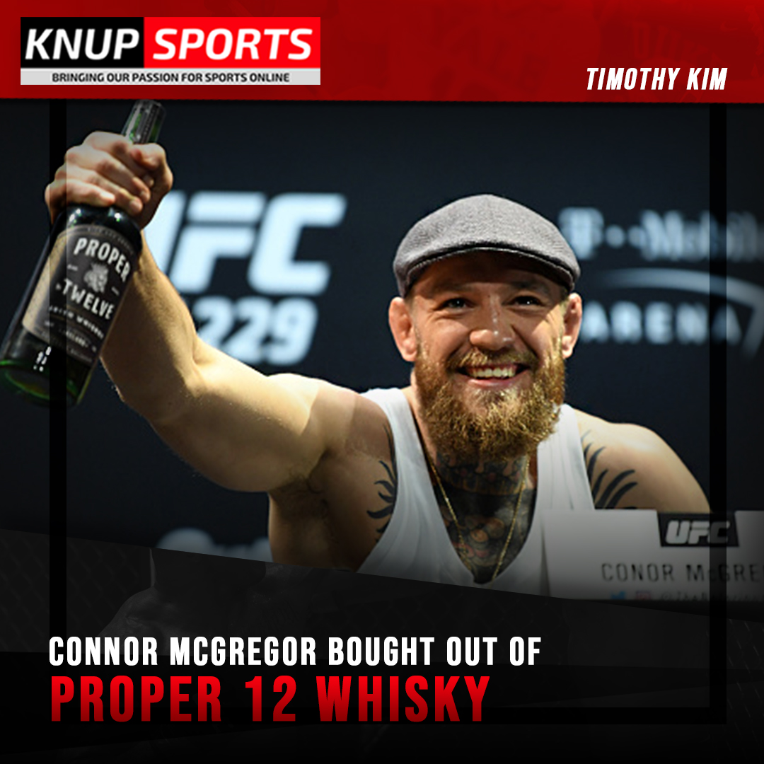 Connor McGregor who had recently fought in UFC #257 is making headlines once again, but this time in the whiskey business.   See more   #ufc #connormcgregor #12 #sports #sportsbetting #ebs #knupsports