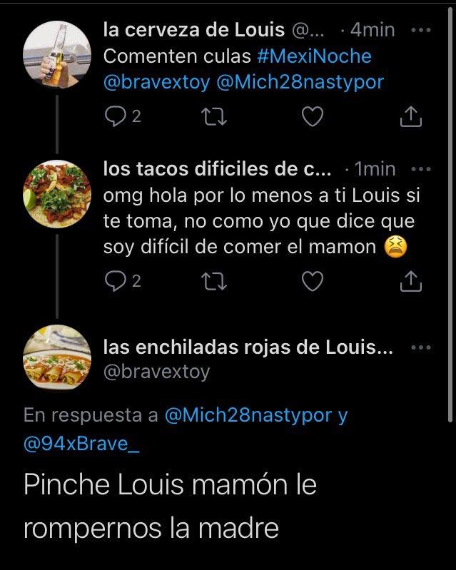 """Replying to @Mich28nastypor: """"La gente en México es normal"""" La gente en México... #mexinoche"""
