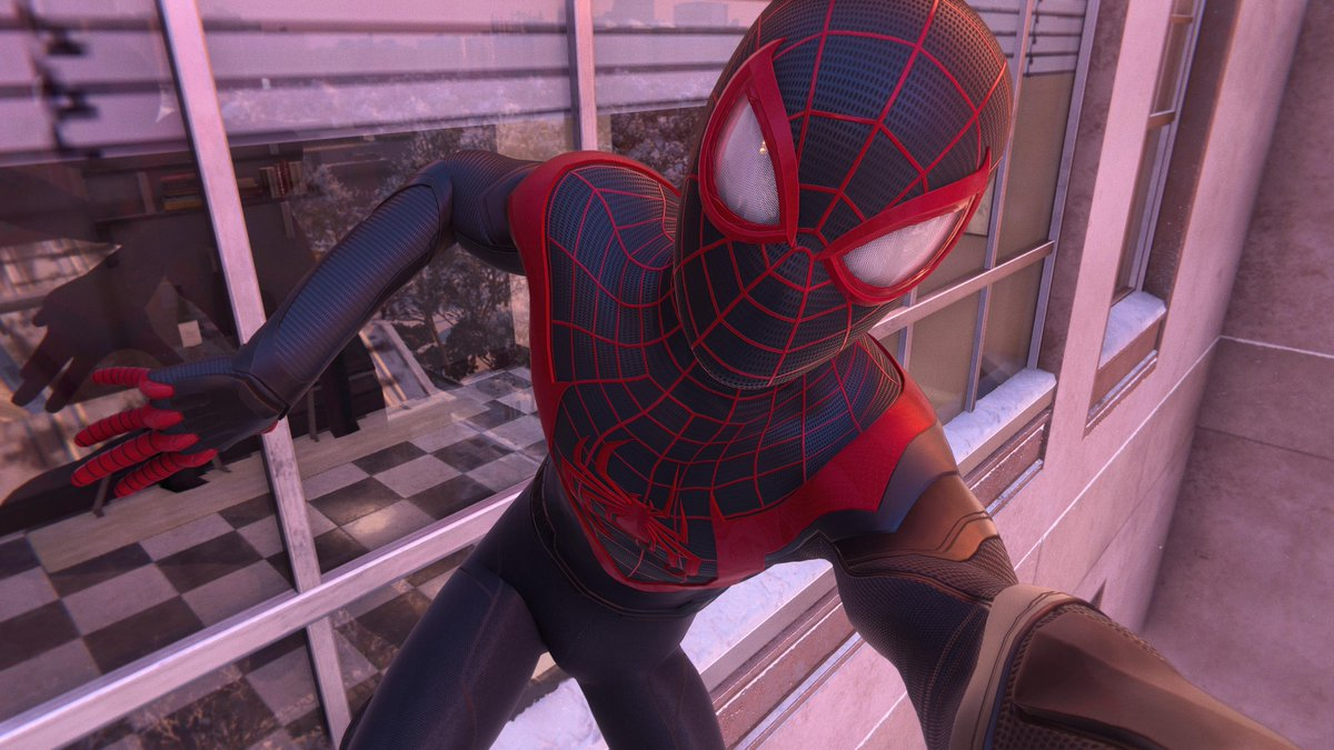 Have a great weekend everyone  + stay safe !  #PS5Share, #MarvelsSpiderManMilesMorales #MilesMoralesNewGamePlus #SpiderMan #MilesMoralesPhotoMode #milesmoralesps5 #Saturday #BeGreater #BeYourself #GreetingsFromNYC #Marvel #Disney