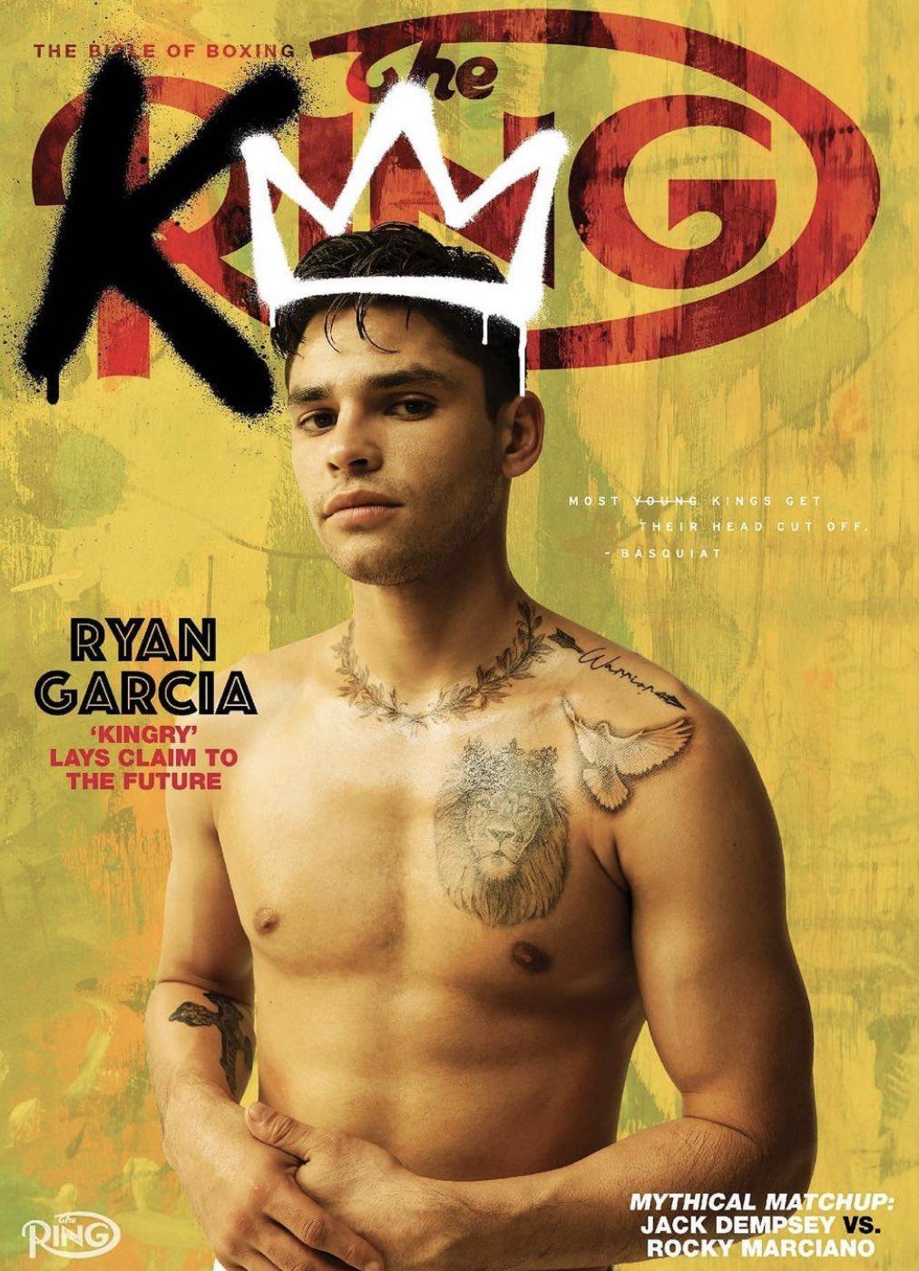 "Oscar De La Hoya on Twitter: ""Ryan Garcia on the cover of @ringmagazine 🔥 Pre-order a print copy at https://t.co/ZZaIpsXUP2… """