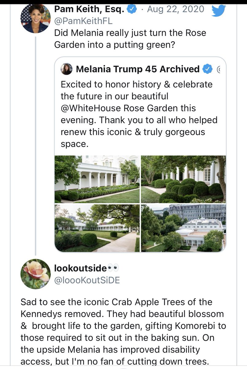 @FLOTUS - please allow #Champ #major to hide all the bones 🦴 in the Former Rose Garden 🥀- I am unanimous in this..let them 🦮🦮tear up Trump Funeral Home...🌹#RoseGarden