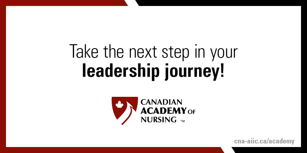 Members of the Canadian Academy of Nursing are invited to make a submission to be a Fellow.   Make your detailed submission by March 22, 2021.   https://t.co/zMiCEwhRtq  #CNA2021 #Canadian #Academy #Nursing https://t.co/OgO2oQ8qL4