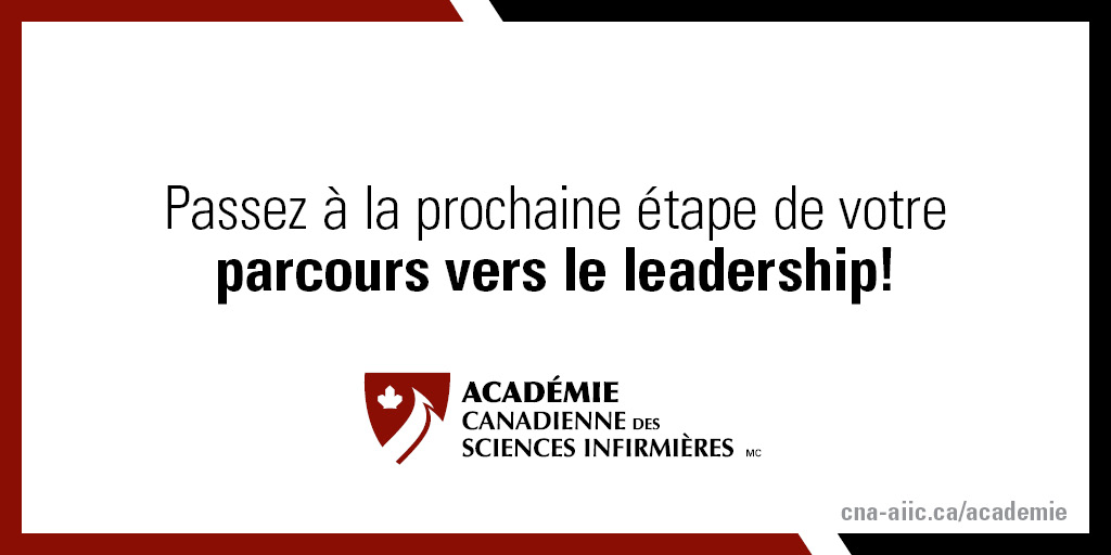 Nous invitons les membres de l'Académie canadienne des sciences infirmières à soumettre leur candidature pour obtenir la désignation de fellow. Soumettez votre candidature détaillée d'ici le 22 mars 2021.   https://t.co/DqNsuBnGyZ https://t.co/6d3zr8IXNa
