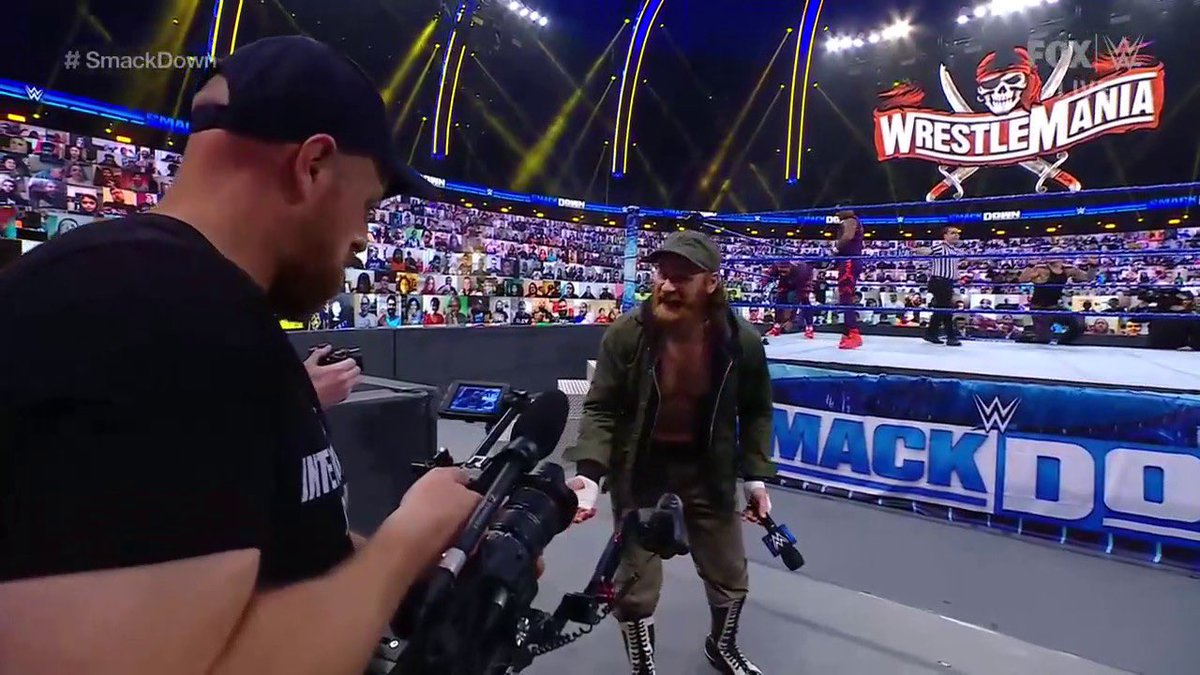 Street Profits vs King Corbin & Sami Zayn  #WWE #SMACKDOWN   Reaction Video!!  via @YouTube