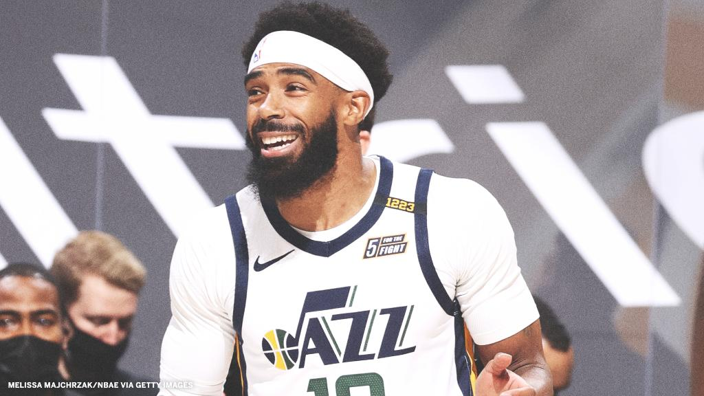 Jazz guard Mike Conley will replace injured Suns guard Devin Booker on Team Durant in the NBA All-Star Game and in the 3-Point Contest, the league announced.  It is Conley's first All-Star appearance. https://t.co/ZwlK4mKMl4