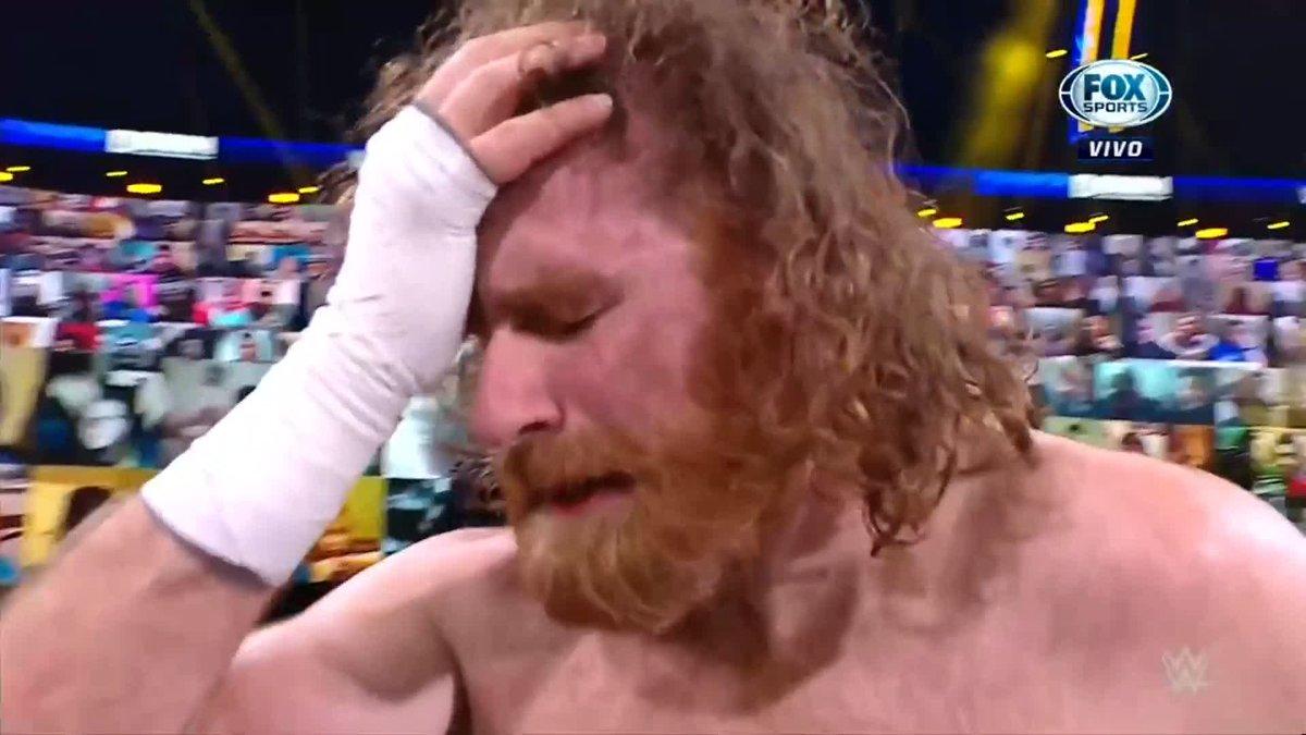 SAMI ZAYN TENÍA EN LA BOSLA LA VICTORIA... PERO   #WWExFOX Cayó en la trampa de Montez Ford y Angelo Dawkins le robó el triunfo   #SmackDown