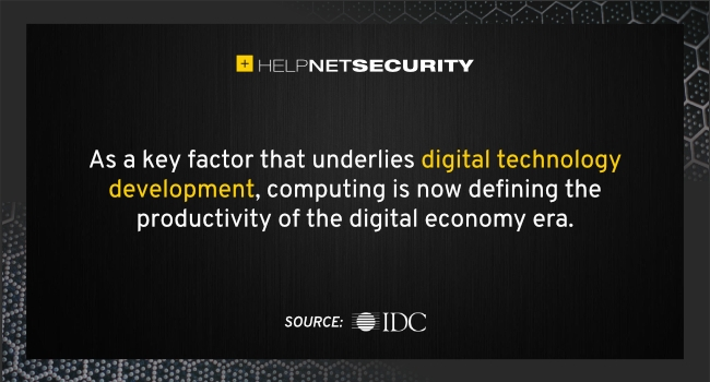 In the #digital economy, computing power defines productivity Global #DigitalTransformation has entered a phase marked by exponential growth in innovation, with the size of the dig ..