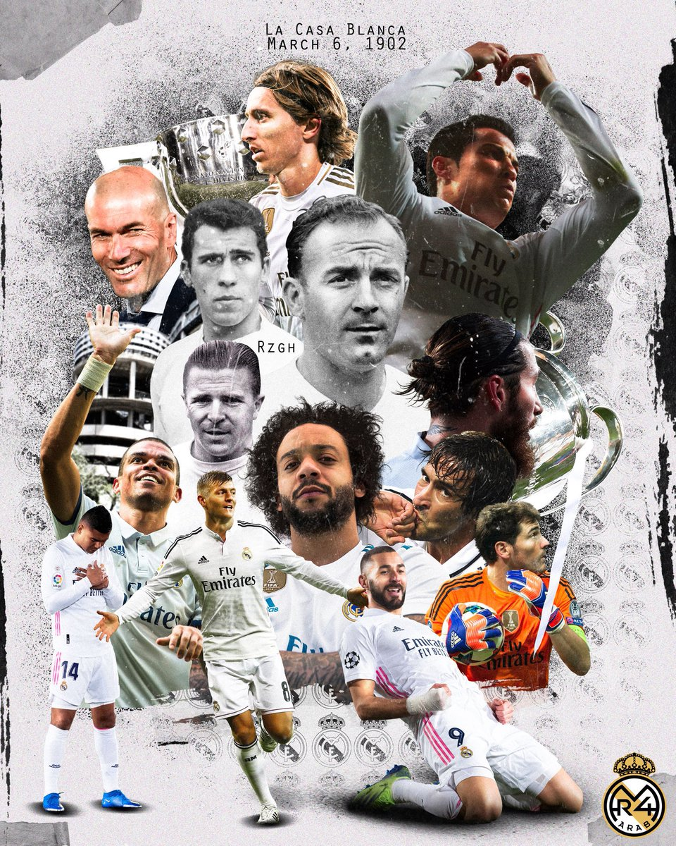 Happy anniversary to the greatest club of all time, the club of my life ❤️ #HalaMadrid