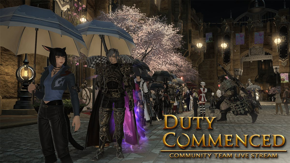 That's all for this Duty Commenced episode! 🤗  Whether you participated in Group Pose or watched Mikoto ignore every single trap in Delubrum Reginae–thanks for tuning in!  Missed the live show? Watch the archive 📺