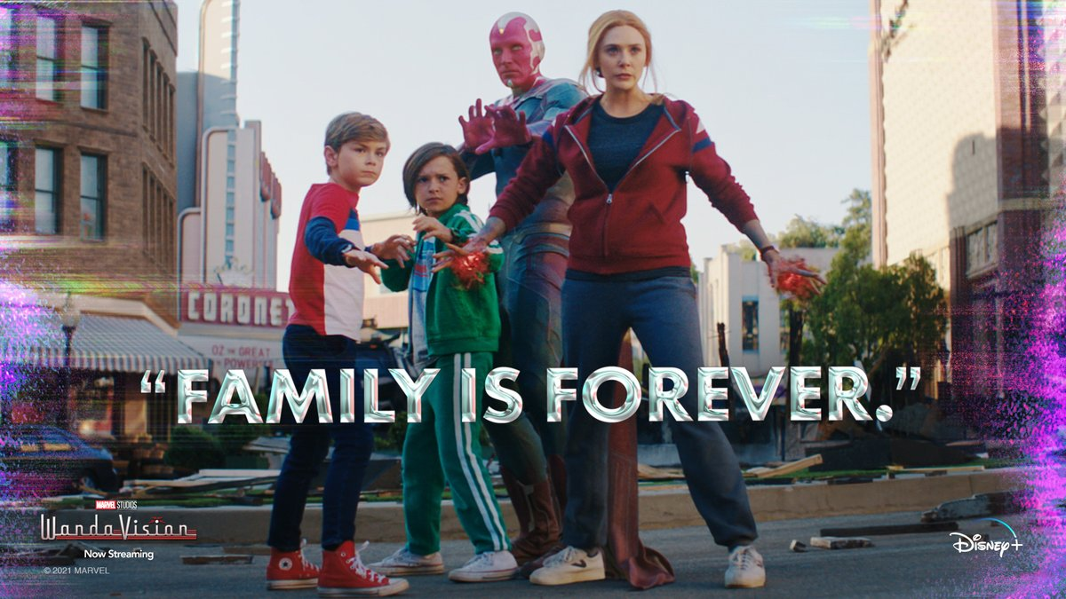 Forever ❤️ All episodes of Marvel Studios' #WandaVision are now streaming on #DisneyPlus.