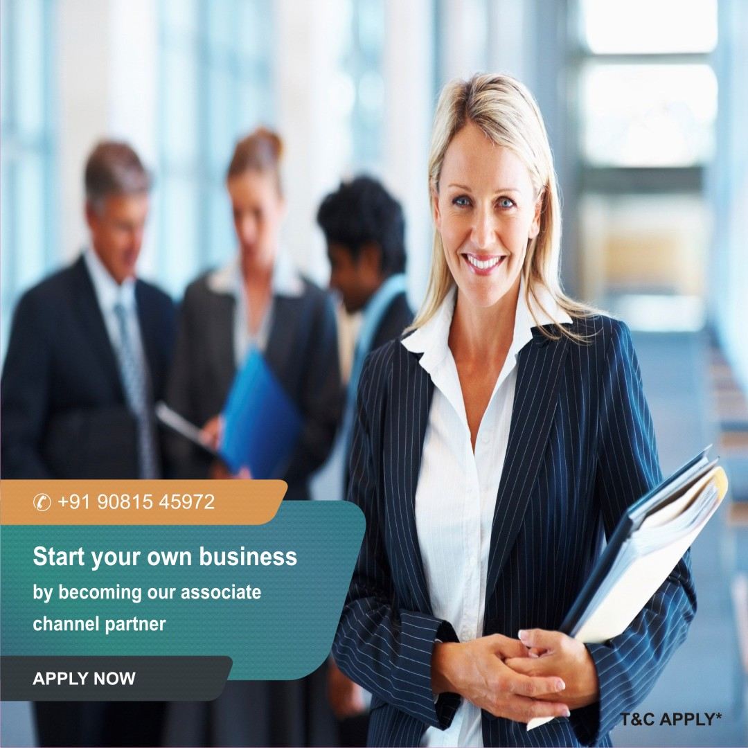 Start your own business by becoming our associate channel partner  for your business and our   for more info call now- +919081545972   #Associate #associatepartner #business #smallbusiness #smallbusinessowner #partners #extraincome #work  #support #impact #owner #associatebroker