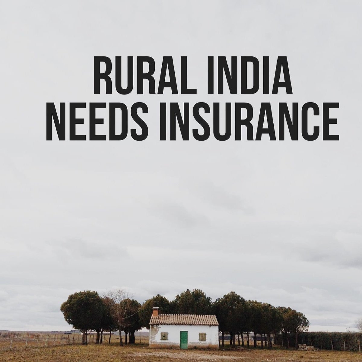 If we must grow the penetration of insurance, we must have simple products which create value since 70% of the population still lives in rural areas!To know more visit.                .                           #ruralindia #insurance #like #follow #comment