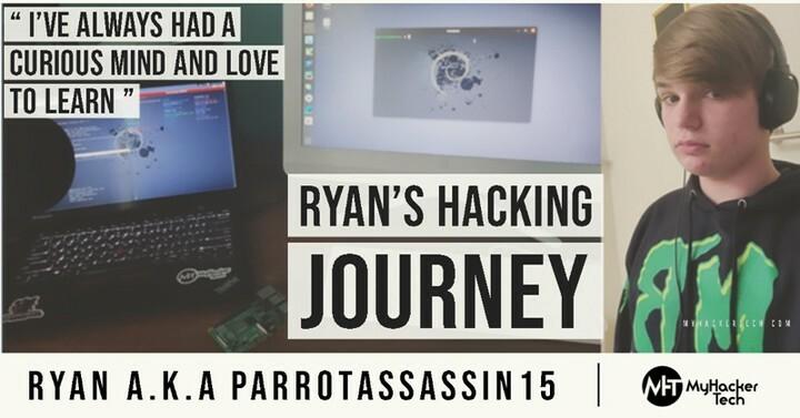 Link in Bio - Ryan's [ a.ka @parrotassassin15 ]Hacking Journey  #myhackertech    . . . #kalilinux #cyberattack #cyber #ethicalhacker #privacy #programming #datasecurity #tech #cybersecurityawareness