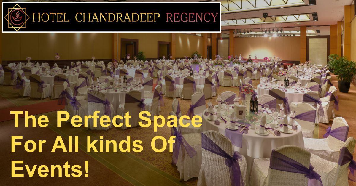 The Perfect Space For All kinds Of Events! Hotel Chandradeep Regency For Call: +91 7059499997 / 7059599997 Near Chittod Chowfully, Surat Bypass, Dhule #thehotelchandradeepregency #hotelchandradeepregency #3Star #Family #veg_nonveg #Restaurant #Bar #Dhule