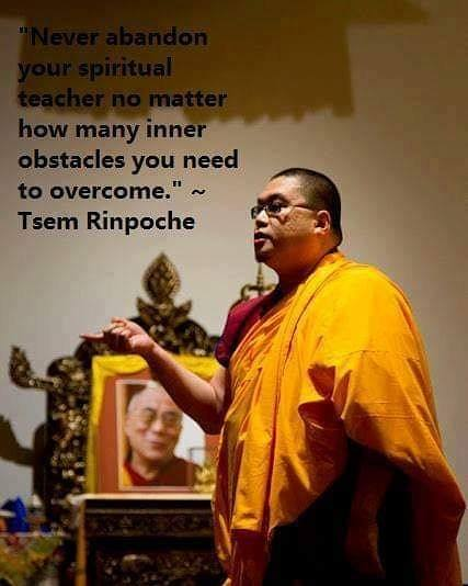 🌷#WordsOfWisdom from #TsemRinpoche🌷    #Wisdom #Spirituality #Blessings #Love #Peace #Healing #Positive #Quote #Dharma #Living #Awareness #Inspiration #Realisation #Motivation #Enlightenment #World #Global #Countries @tsemtulku @MartinMKC