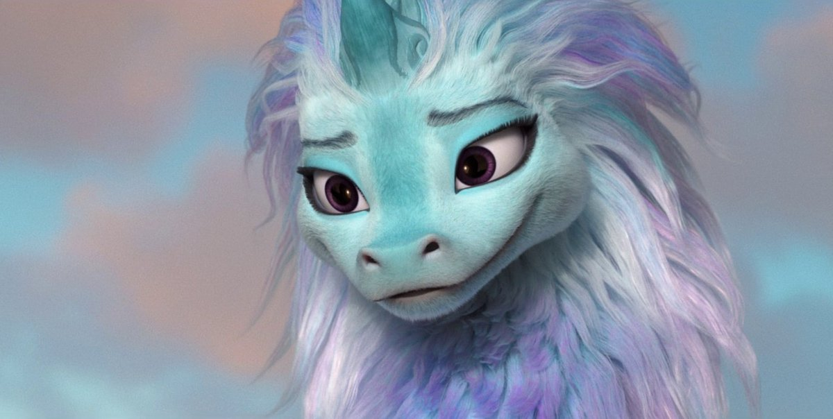 I don't know how to explain it but Sisu absolutely gave off fursuiter vibes  #RayaAndTheLastDragon