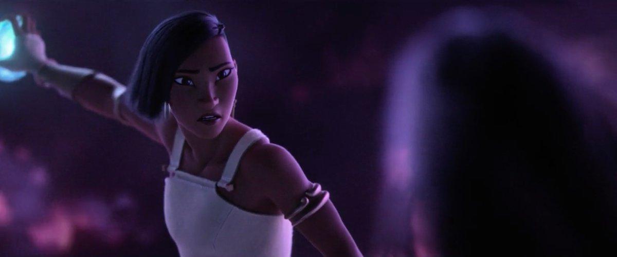 // raya and the last dragon spoilers #RayaAndTheLastDragon   namaari is so stunning just.. just look at her.