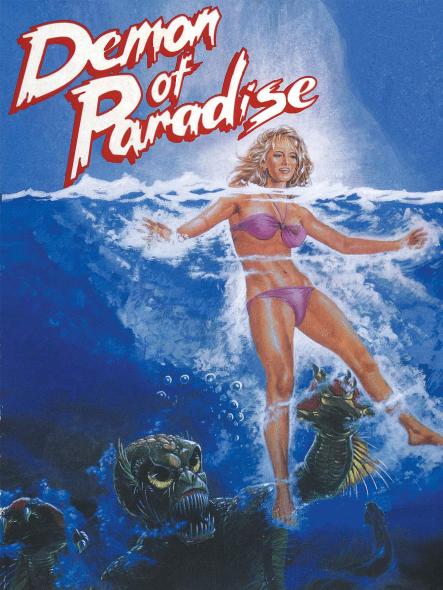 #NowPlaying DEMON OF PARADISE on @tubi! Anyone else a huge fan of Filipino exploitation films? Especially the Jaws ripoff's! Talk about no holds barred movie making! #rogercorman #MutantFam #drivein #horror #Jaws #ripoff