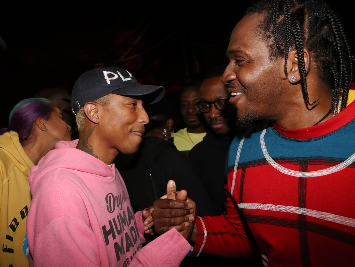 .@PUSHA_T ALBUM UPDATE 🚨  @StevenVictor says Pharrell will produce half of the project and Kanye will produce the other half.  Details: https://t.co/dVrM51h5r4 https://t.co/rkyQAfwyAM