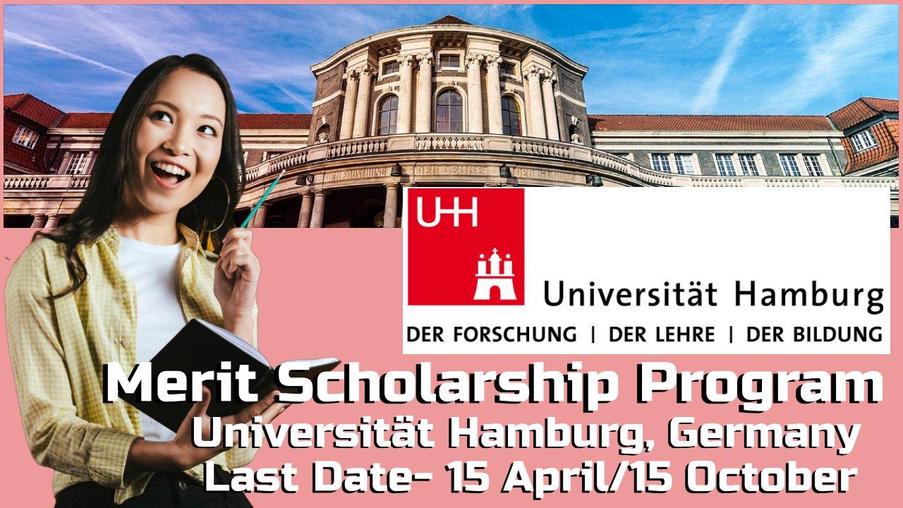 Merit Scholarship Program by Universität Hamburg, Germany