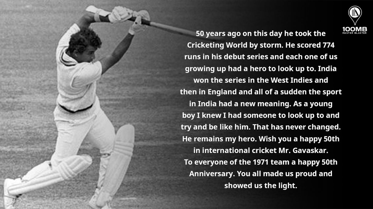 A tribute to My Idol! 🏏🙏🏼 https://t.co/l6nP89pUQi
