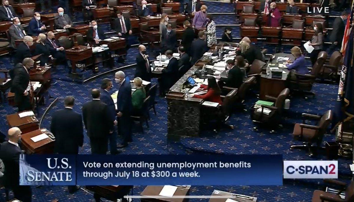 U.S. Senate #votearama continues - LIVE on C-SPAN2 …