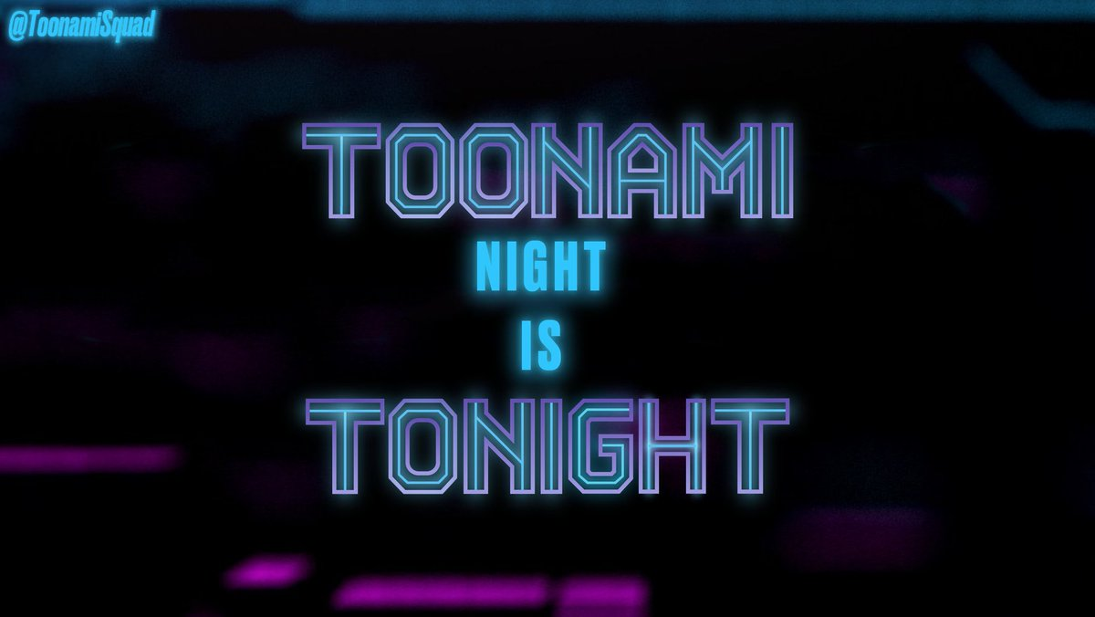 Is it midnight yet?  The countdown to #Toonami begins!