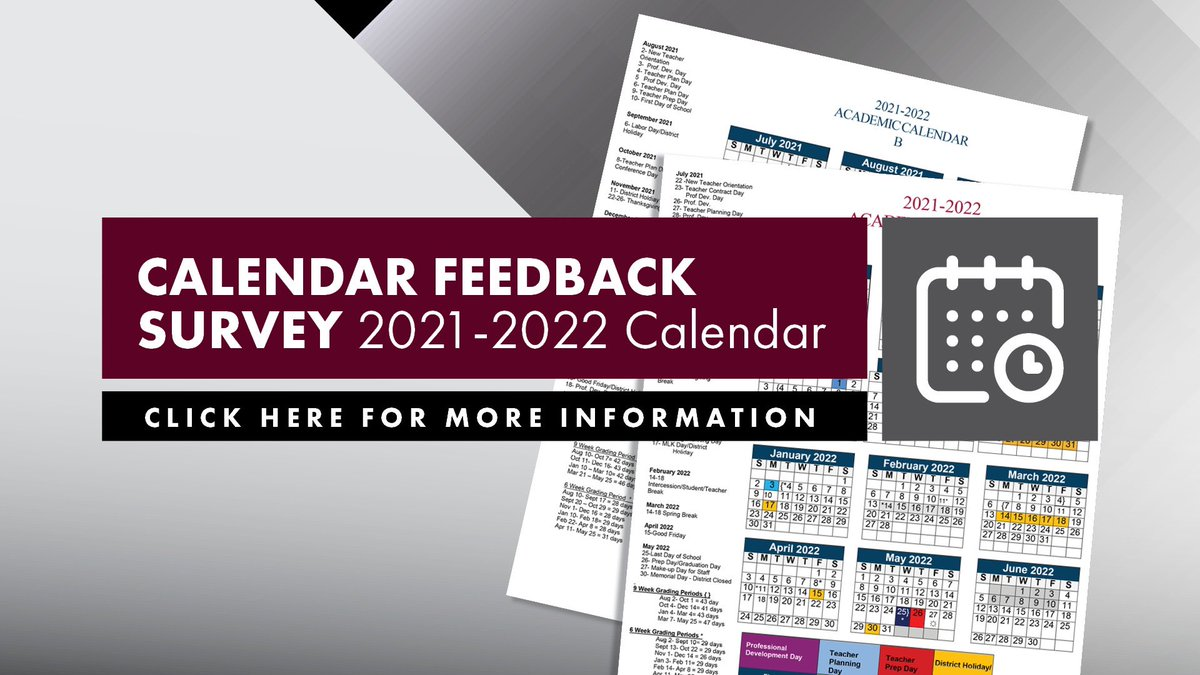 Fbisd Calendar 2022.Flour Bluff Isd On Twitter The Fbisd Calendar Committee Has Presented 2 Calendar Options For The 2021 22 School Year Feedback Will Be Used To Select The Calendar For Next School Year To