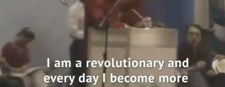 Soy un revolucionario y cada dia me vuelvo mas #ChavezPartyNightClub #YoSoyChavezEnZK #TAZLive