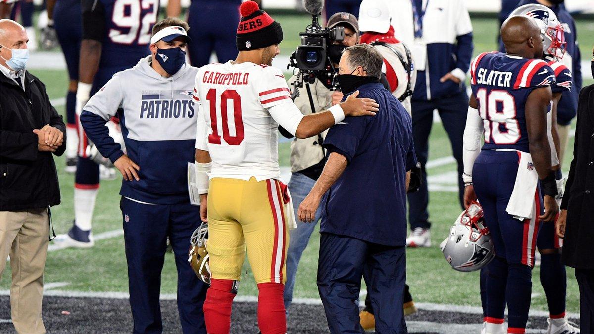EPAAAAA  Mesmo sem os 49ers darem brecha, os Patriots trabalham para terem Jimmy G como QB na próxima temporada.  Esse é o plano A da franquia de New England!